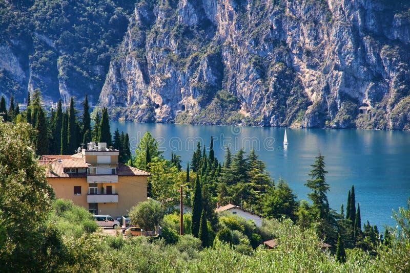 By the Lake Garda stock photos