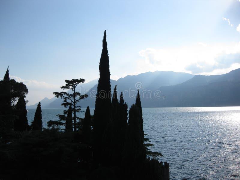 Lake Garda arkivbilder