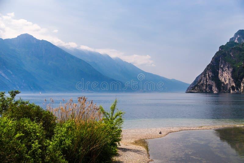 Lake of Garda, italy royalty free stock image