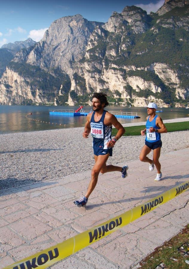 Lake Garda Marathon 2008 Editorial Stock Photo - Image ...