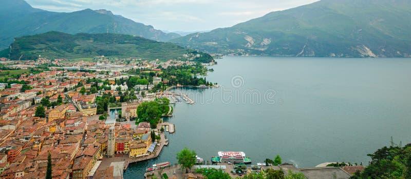 Lake Garda, Riva del Garda stock images