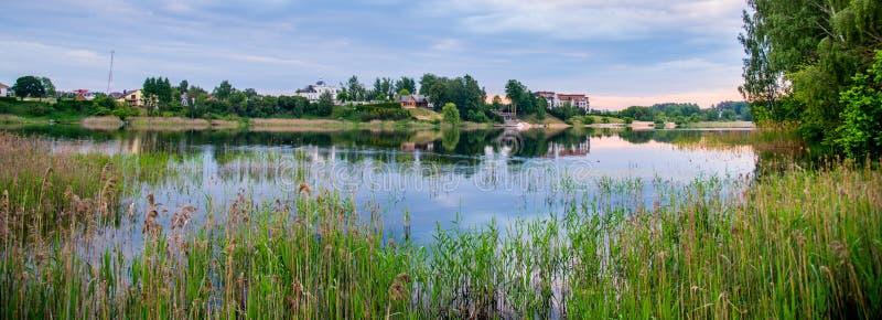 Lake Giluzis near Pilaite, Vilnius royalty free stock images