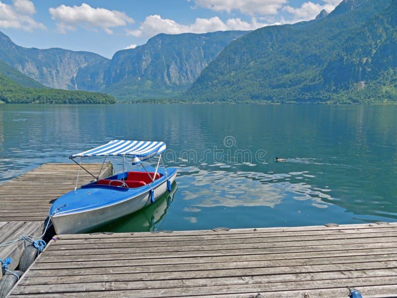Lake Hallstatt arkivbild