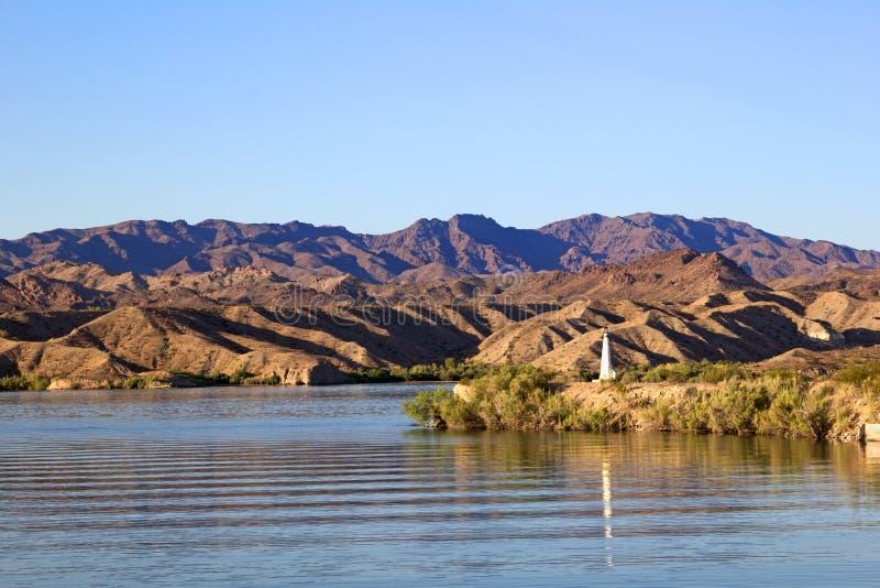 "Lake- Havasu†""Leuchtturm lizenzfreies stockbild"