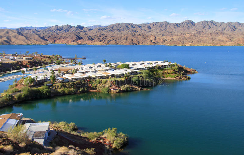 Lake Havasu royaltyfria foton