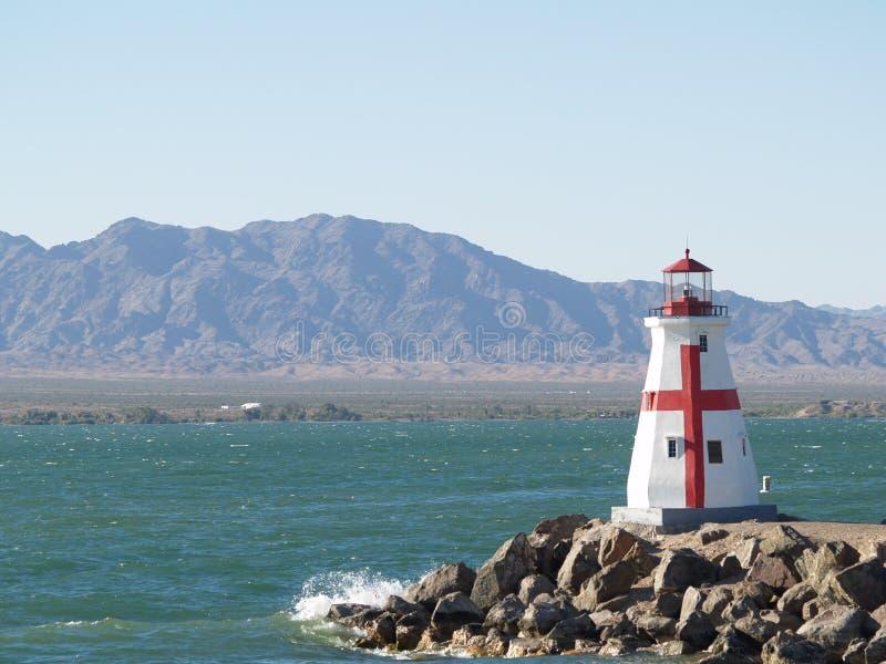 Lake Havsu Lighthouse stock photo