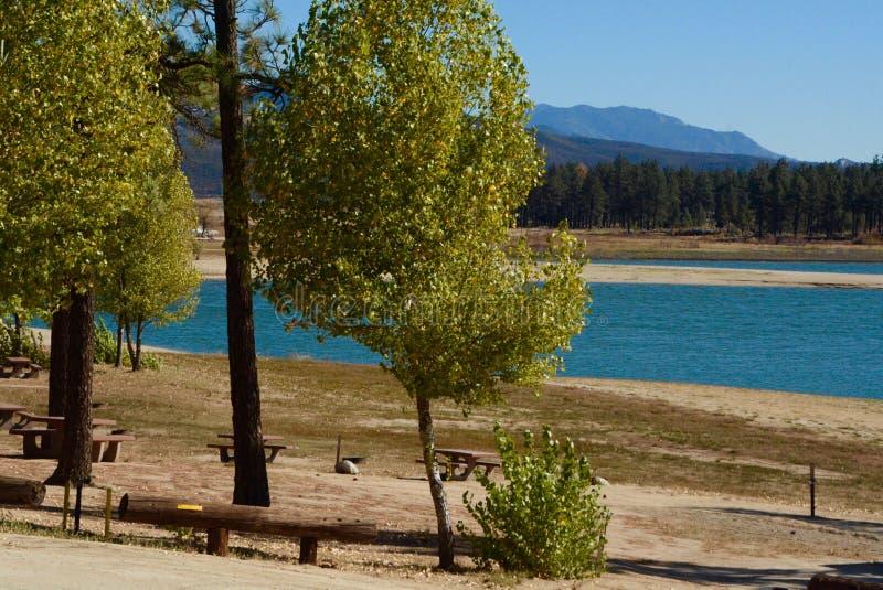 Lake Hemet. Near Idyllwild, California stock images