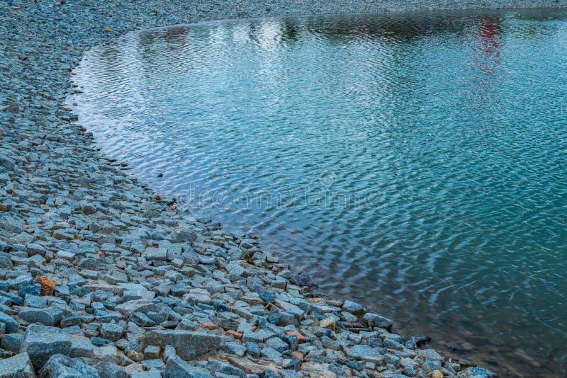 The lake in Hinoki land. Thailand stock image
