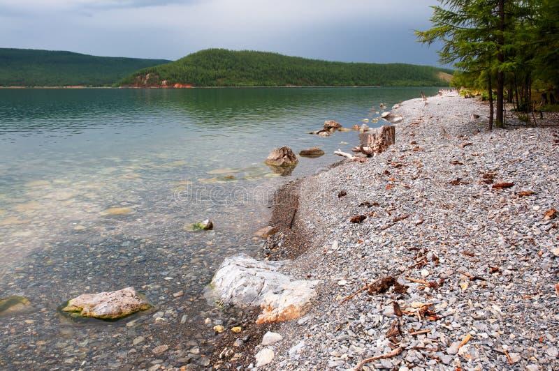 Lake Hovsgol, Mongolia royalty free stock photo