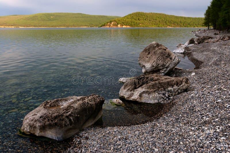 Lake Hovsgol, Mongolia royalty free stock images