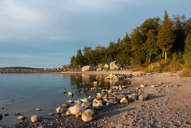 Lake Huron Shoreline Stock Photo