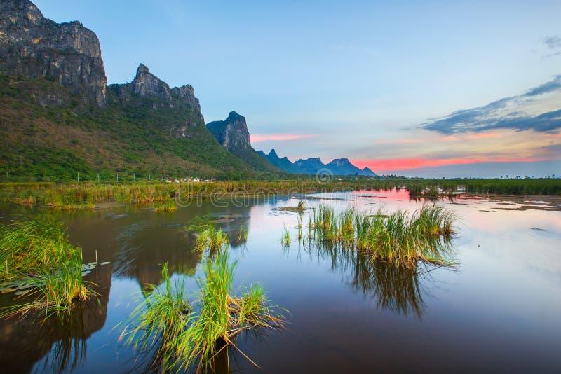 Lake i nationalpark royaltyfri fotografi