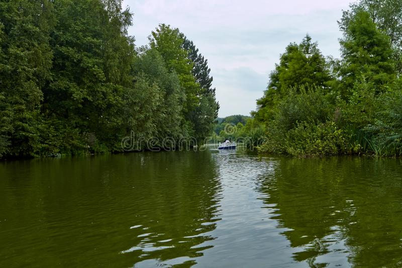 Lake i parkera arkivbilder