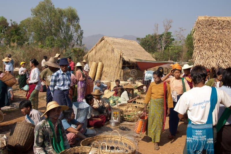 Download Lake Inle, MYANMAR - Friday Market Editorial Stock Photo - Image: 16823663