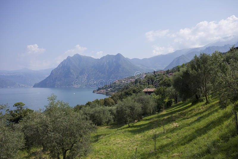 Download Lake Iseo Stock Photo - Image: 83716500