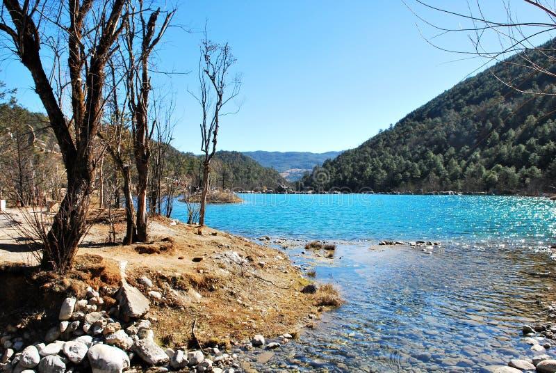 Download Lake Of The Jade Dragon Snow Mountain Stock Photo - Image of blue, dragon: 23251154