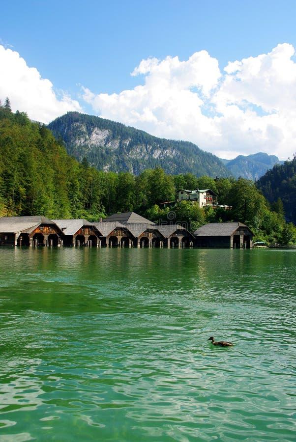 Lake Königsee stock images