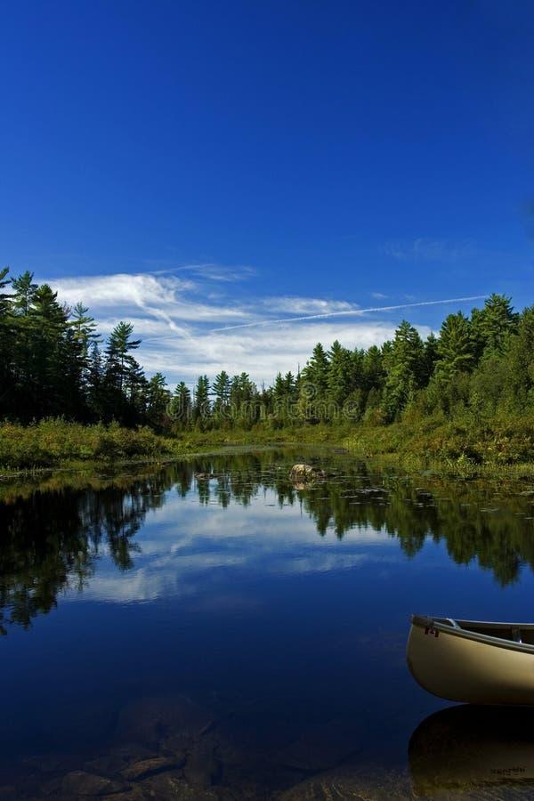 lake kajakowy obraz royalty free