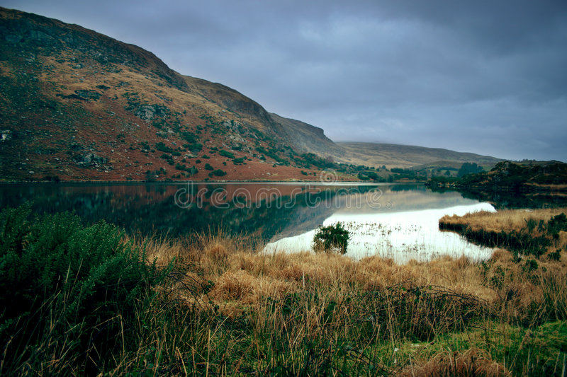 Lake in Kerry royalty free stock images