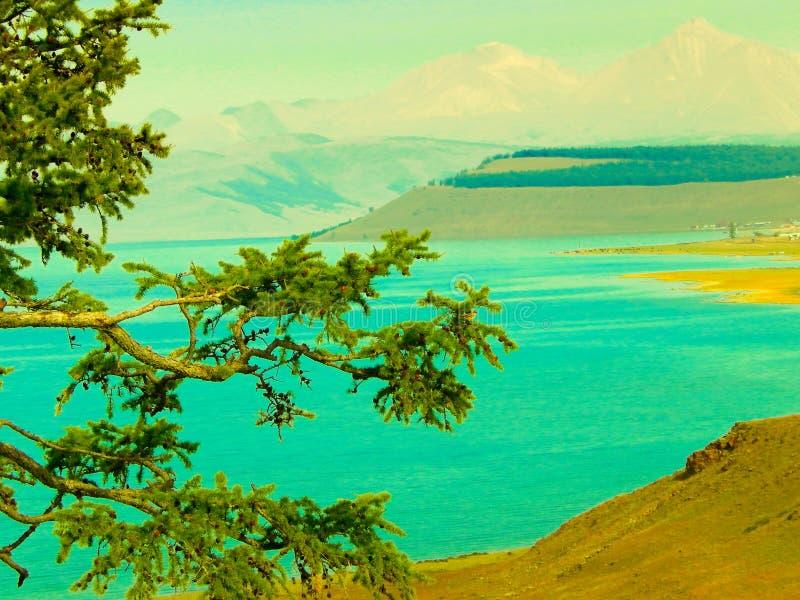 Lake Khubsugul, Mongolia. stock image