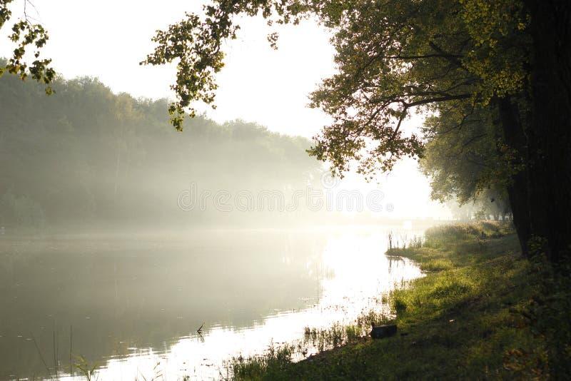 Lake landscape stock photography