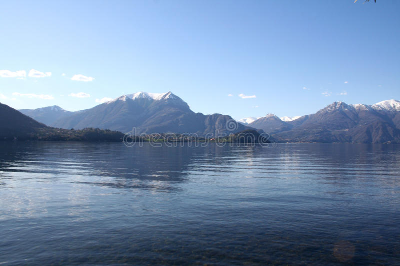 Lake Lecco Italy royalty free stock photos