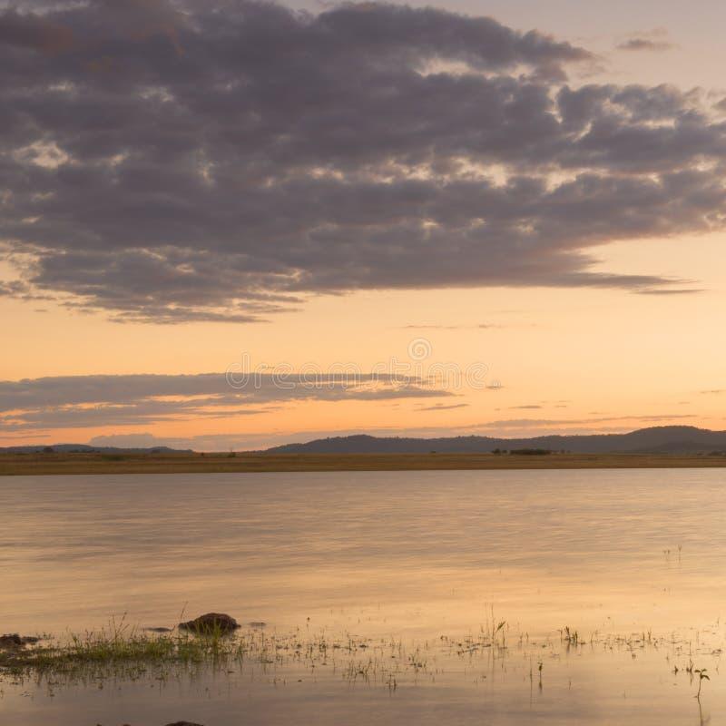 Lake Leslie in Queensland royalty free stock image