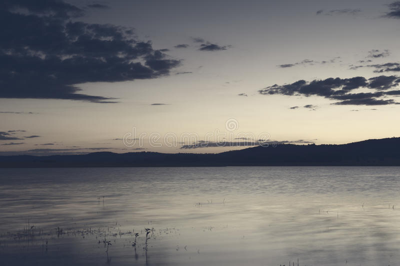Lake Leslie in Queensland royalty free stock images