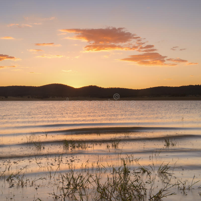 Lake Leslie in Queensland royalty free stock photo