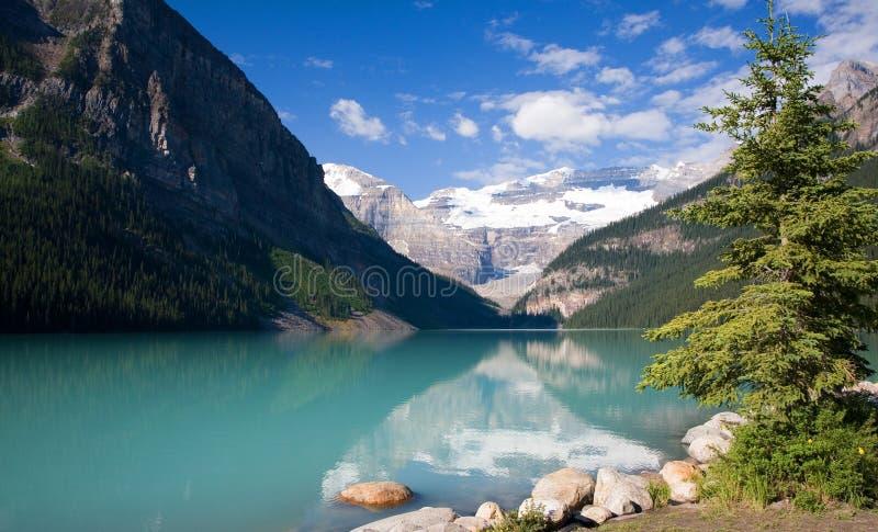 Lake Louise lizenzfreie stockbilder