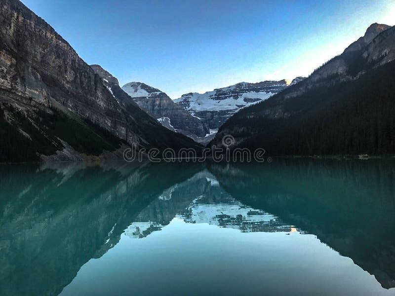Lake Louise immagini stock