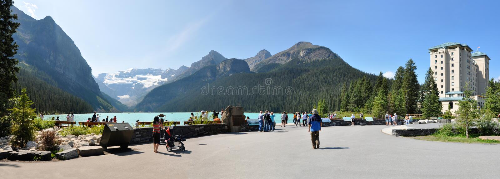 Lake Louise stockfotos