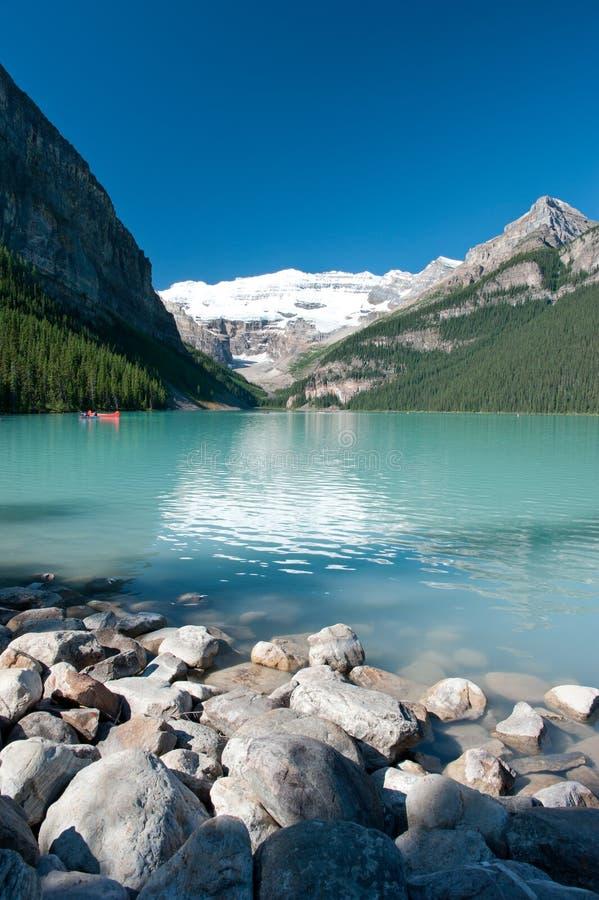 Lake louise. At Banff national park, Canada stock photos