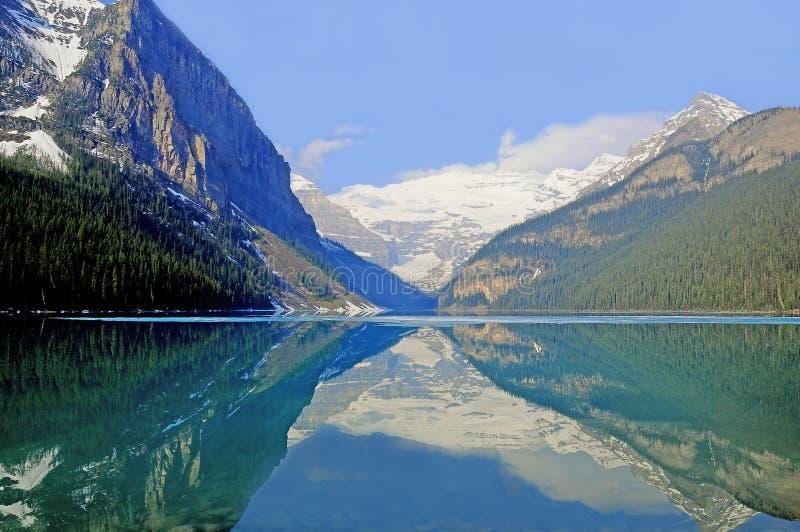 Lake Louise. stockbild