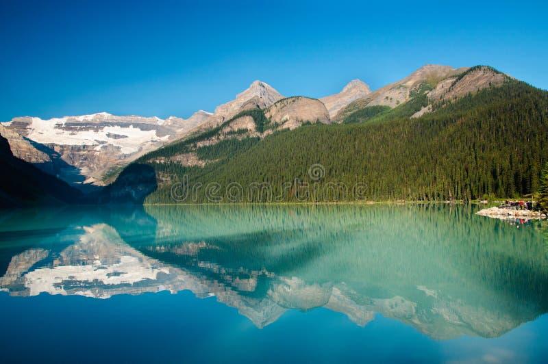 Lake Louise fotografía de archivo