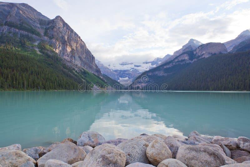 Lake Louise στοκ εικόνα με δικαίωμα ελεύθερης χρήσης