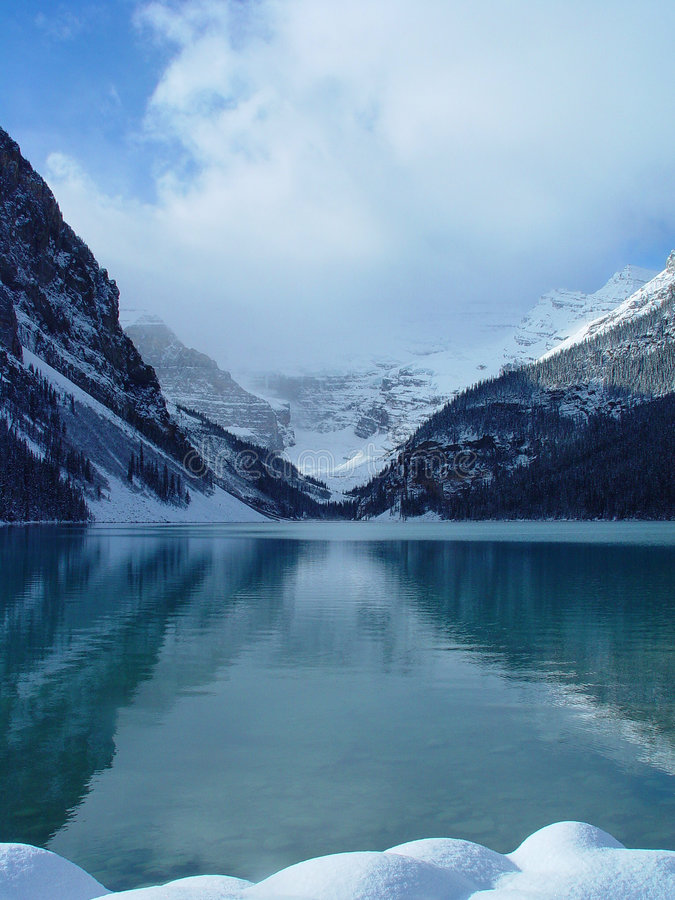 Lake Louise fotografie stock