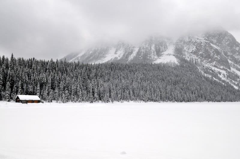 Lake Louise immagine stock