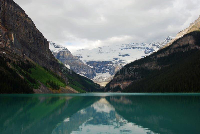 Lake Louise. In Canadian Rockies Alberta Canada royalty free stock images