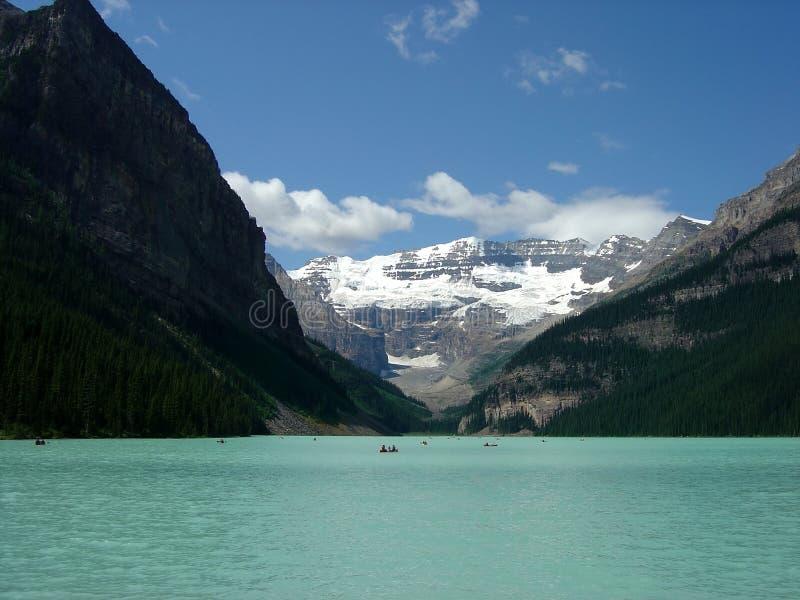 Lake Louise. Beautiful Lake Louise, Banff Alberta, Canada royalty free stock photography