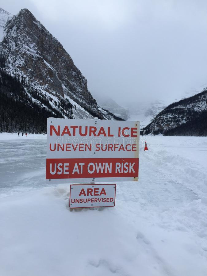 Lake Louise image libre de droits