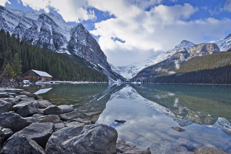 Lake Louise photos libres de droits