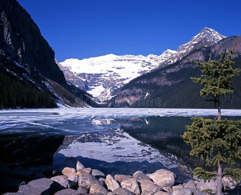 Lake Louise, Alberta, Canadá. foto de stock royalty free