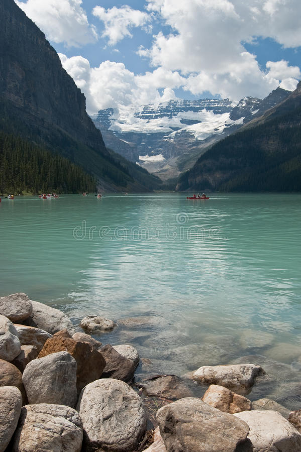 Lake Louise, Alberta, Canada royalty free stock image
