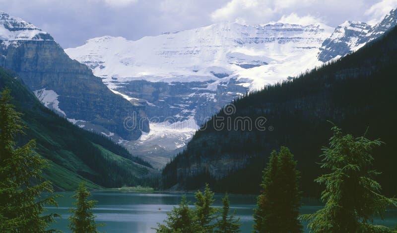 Lake Louise Alberta Canada royalty free stock photos