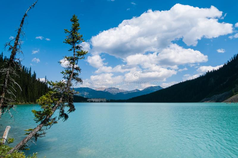Lake Louise in Banff National Park. Canada stock photos