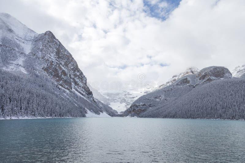 Lake Louise in Banff National Park. Lake Louise in Banff National Park, Canada stock image