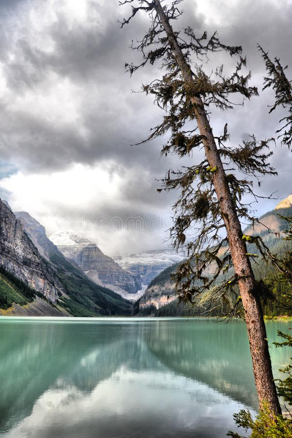 Lake Louise stockfotografie