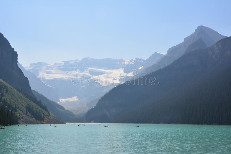 Lake Louise Canada royalty free stock photography