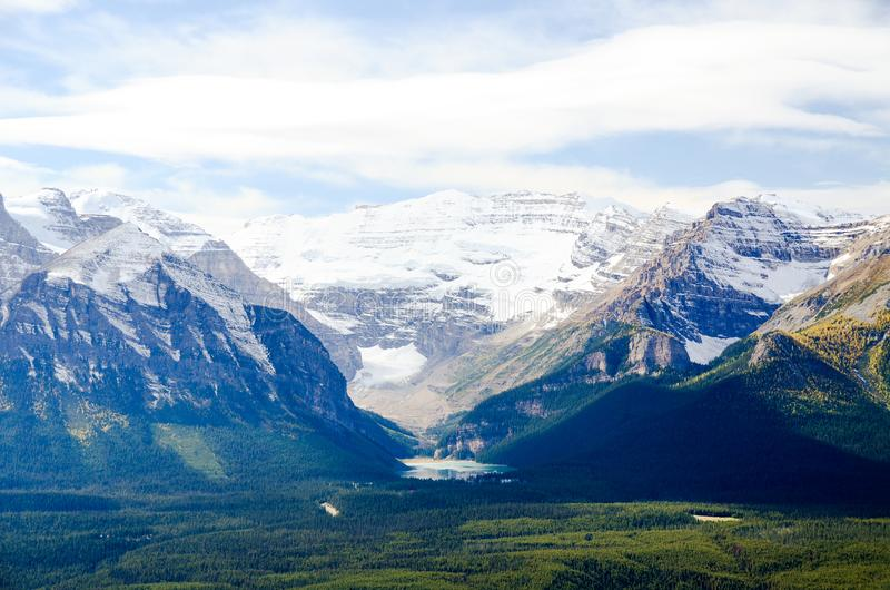 Lake Louise, Canadian Rockies. Alberta,Canada stock photo